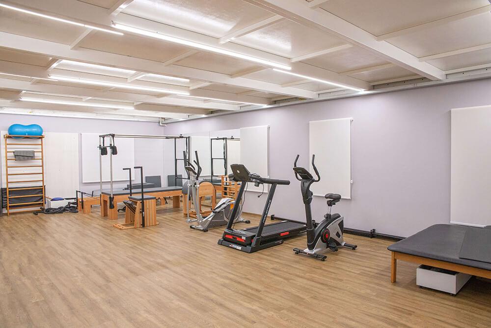 Centro de treinamento e reabilitação física