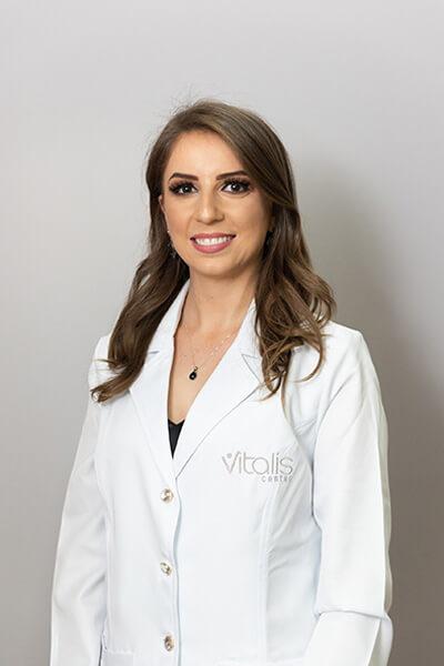 Pricila Carla Bazanella, nutricionista Vitalis Center
